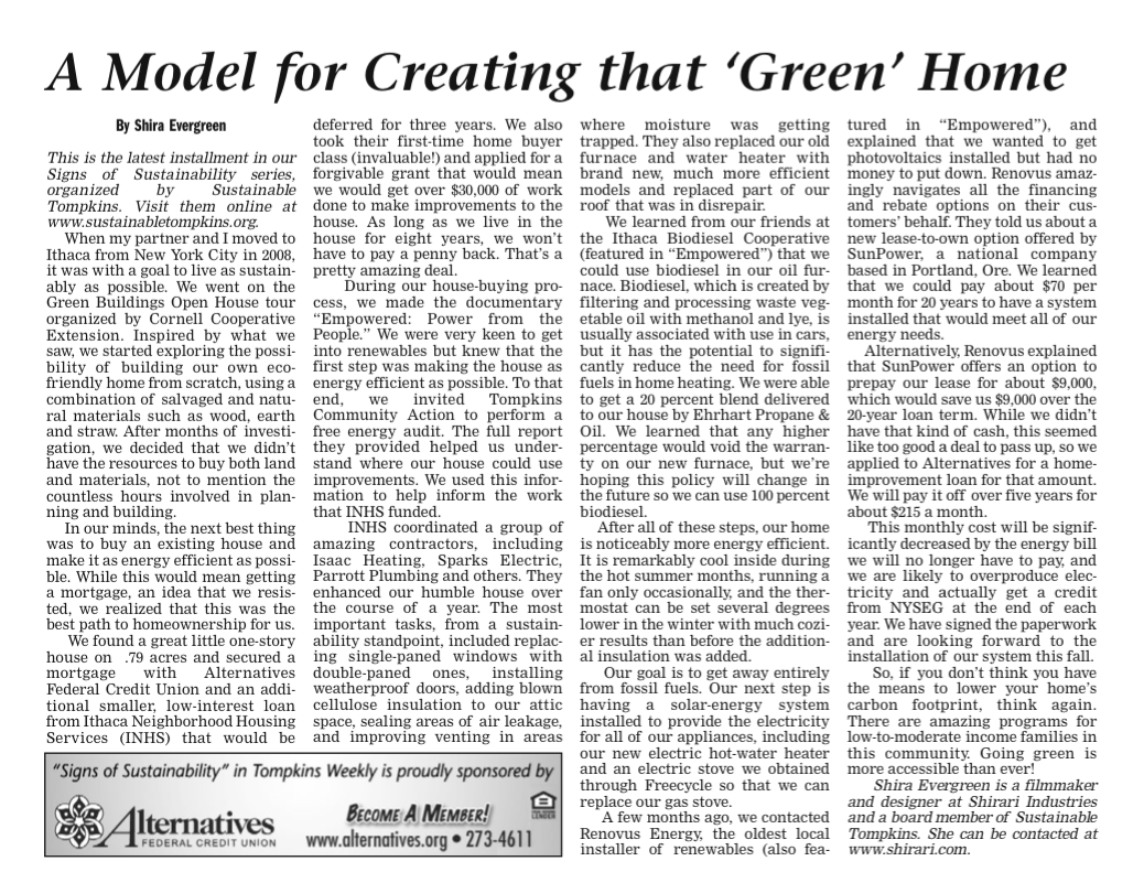 green home article